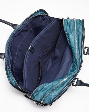 ブルー系 BH02A-02 インバッグ付きブリーフケース見る