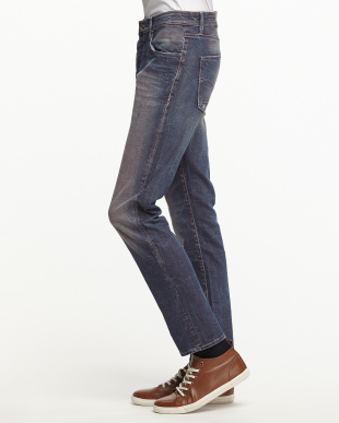 ネイビー系 RAUL DEEP RED DENIM STR 9.5OZ 5 POCKETS見る