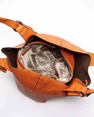 オレンジ  ロゴ刻印親子バッグ見る