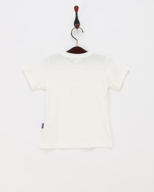 ホワイト iPhoneプリントTシャツ見る