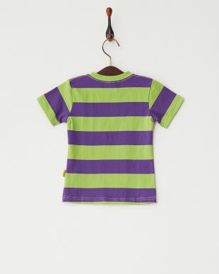 グリーン  Lemon ボーダーTシャツ見る