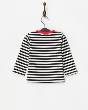 黒×白  タコさんウィンナー長袖シャツ見る