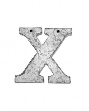 X  ブリキレター見る