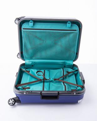 ブルー  トラストS スーツケース61L見る
