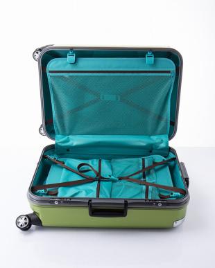 ライム  トラストM スーツケース73L見る