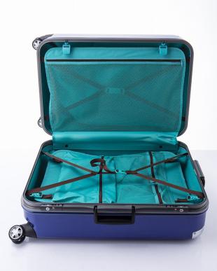 ブルー  トラストL スーツケース96L見る