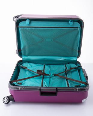 パープル  トラストL スーツケース96L見る