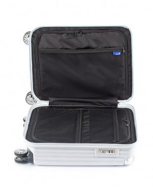 ホワイトヘアライン  ストリークS スーツケース38.5L見る