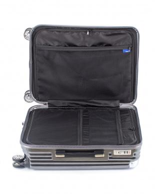 ブラックヘアライン  ストリークM スーツケース60L見る