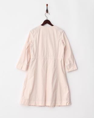ペールピンク 製品洗い加工 デザインドレスコート見る