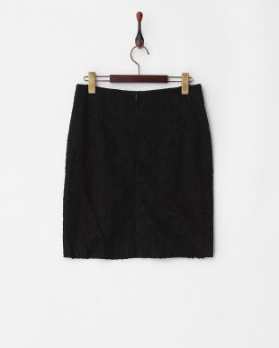 ブラック クルーニーレース スカート(イギリス製生地)見る