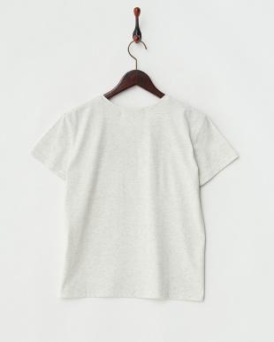 オートミール  フェイクプリントTシャツ見る
