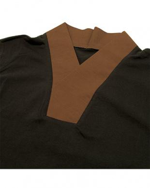 ブラウン系  センスアップインナー Tシャツ MEN見る