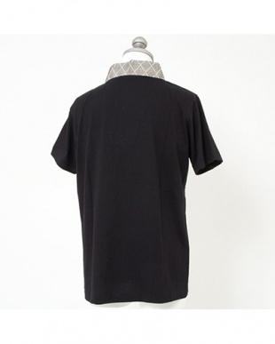 ブラック系 ワンポイント センスアップインナー Tシャツ MEN見る