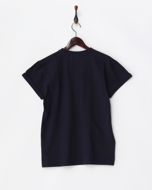 Navy  Railway Map T-Shirts見る