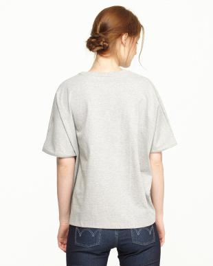 Gray  Dolman sleeve T-Shirts見る
