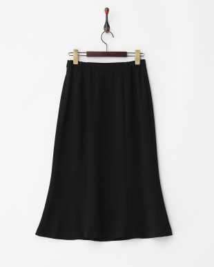 ブラック フォーマル フレア調スカート見る
