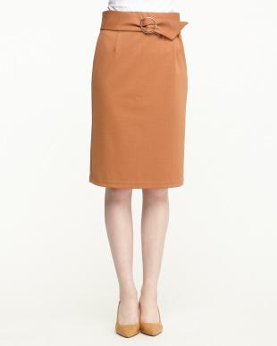 オレンジ系  ポンチタイトスカート見る