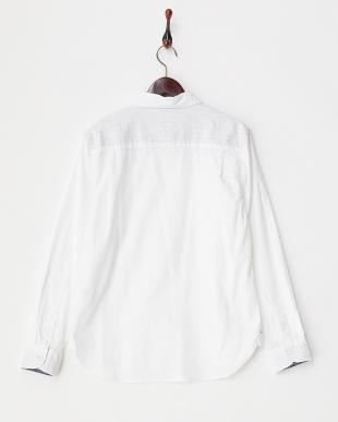 シロ  綿麻ストレッチシャツ見る