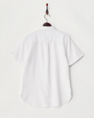 シロ  ワッフル織半袖シャツ見る