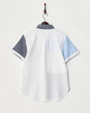 クレイジー  ワッフル織半袖シャツ見る