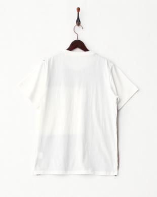 カーキ  前身ニットTシャツ見る