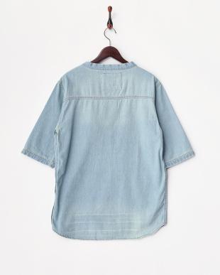 インディゴ  Denim Pullover Shirts見る