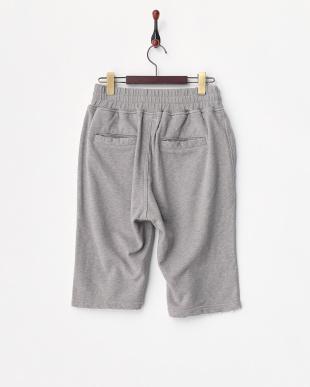 グレー  Studs Sweat Shorts見る