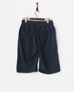 ネイビー  Studs Sweat Shorts見る