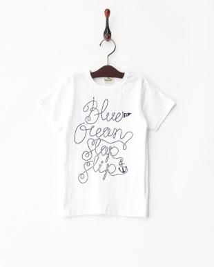 ホワイト  マリンTシャツ見る