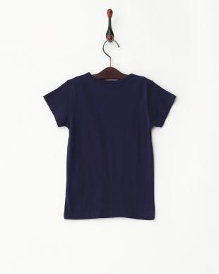 ネイビー  ミニリボンTシャツ見る