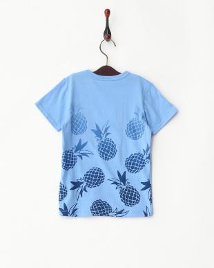 ブルー  パイナップルTシャツ見る
