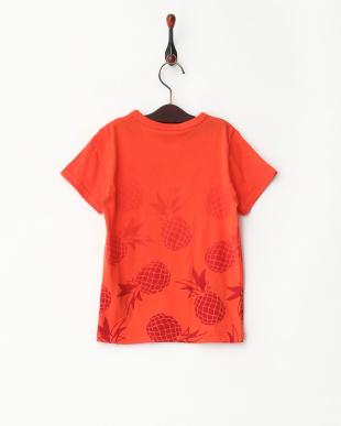 オレンジ  パイナップルTシャツ見る