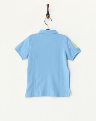 ブルーソノタ  ライオン刺繍ポロシャツ A見る