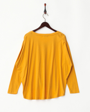 YELLOW  V-NECK POCKET TEE見る