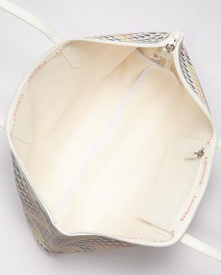 ホワイト L.12.12 CROC トートバッグ見る