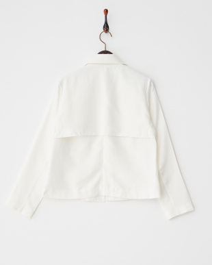 オフホワイト  ショートジャケット見る