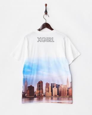 WHITE AMERICAN LANDSCAPE 半袖ビッグTシャツ見る