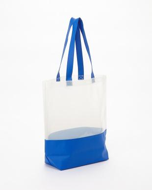 BLUE  BEACH BAG見る