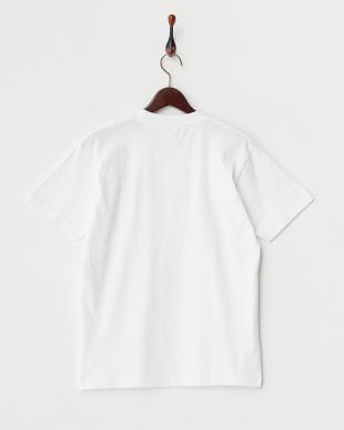 WHITE  ホットドッグフォト 半袖Tシャツ見る