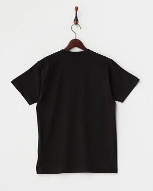 BLACK  ホットドッグフォト 半袖Tシャツ見る