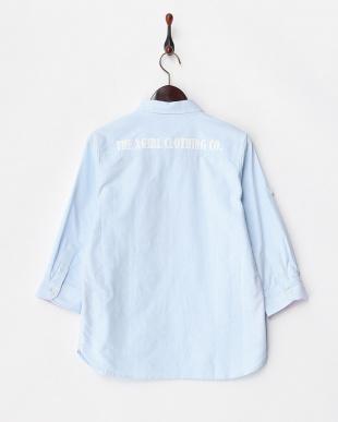 BLUE  オックスフォードシャツ見る