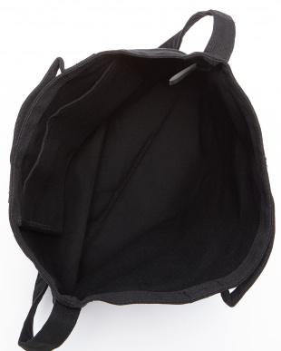 BLACK  2WAYキャンバストートバッグ見る