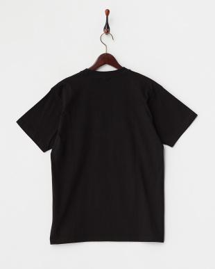 BLACK  カラーコミック半袖Tシャツ見る