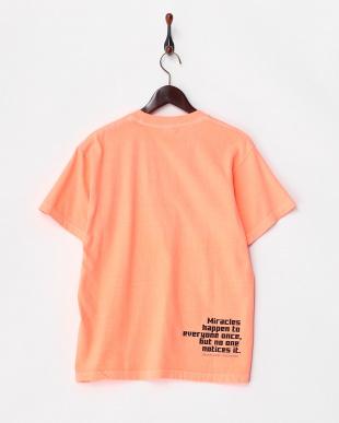 ネオンオレンジ  わたしは真悟 MENS 半袖Tシャツ見る