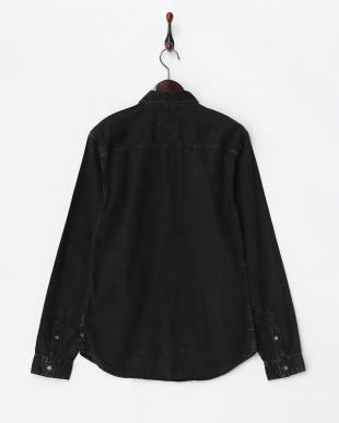 ブラック系 Woven Denim Shirts見る