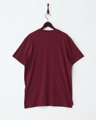 ワイン系 Tops・フロッキープリントTシャツ見る