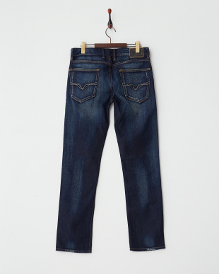 ブルー系(DVDT) Denim Pants・SLIM STRAIGHT見る