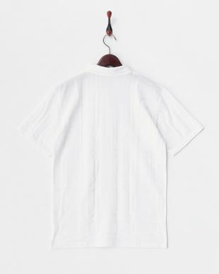 ホワイト スラブリンクスポロシャツ見る