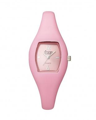 White/pink/Blue Watch・シリコンベルト 3個セット見る